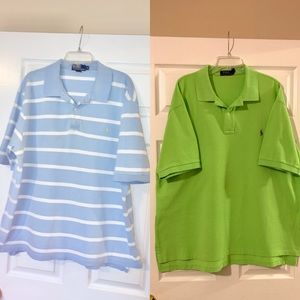2 Polo by Ralph Lauren Shirts